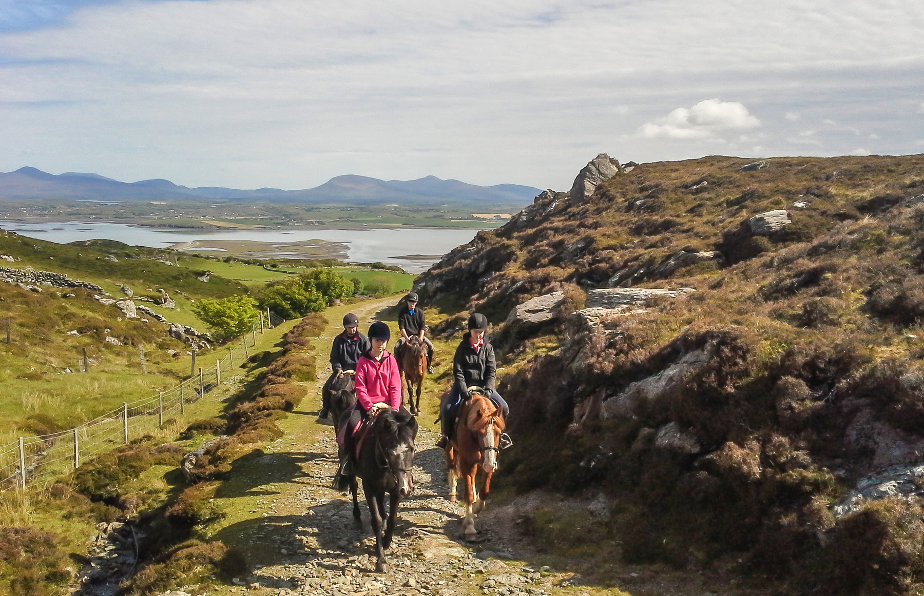 Clew Bay Trail Ride - Horse Riding Holidays Ireland